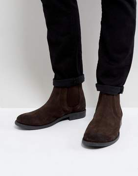 Frank Wright Round Toe Chelsea Boots