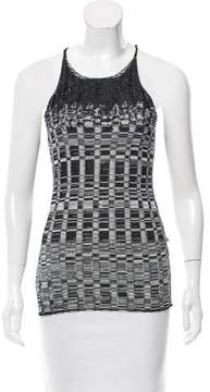 Aviu Sequined Abstract Top