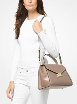 MICHAEL Michael Kors Whitney Large Leather Satchel