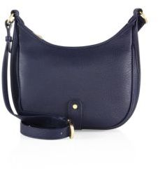 GiGi New York Personalized Casey Pebble Grain Leather Crossbody Bag