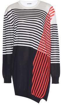 Jil Sander Cashmere and silk sweater dress