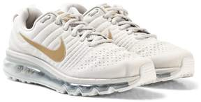 Nike White and Gold Junior Trainer