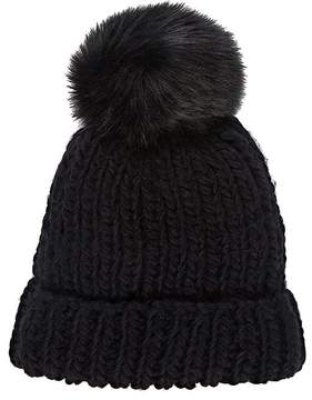 Barneys New York WOMEN'S POM-POM-EMBELLISHED HAT