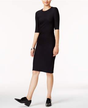 Armani Exchange Ponte-Knit Dress