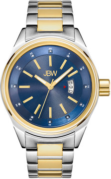 JBW Rook Blue Dial Two-tone Stainless Steel Men's Watch