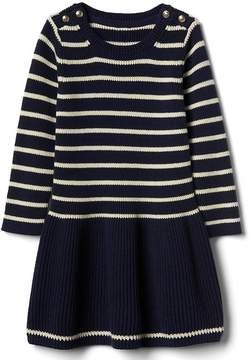 Gap Breton stripe sweater dress