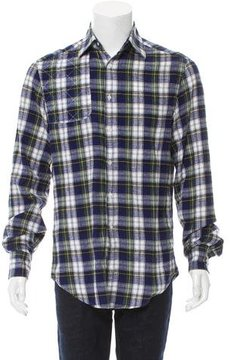 Michael Bastian Tartan Flannel Shirt