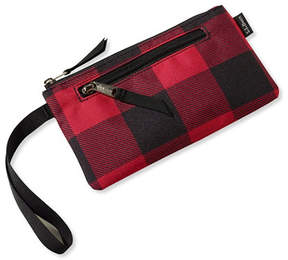 L.L. Bean Everyday Lightweight Clutch Plaid
