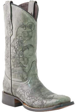 Lucchese Bootmaker M5815.TWF Square Toe Fowler Heel Boot (Women's)