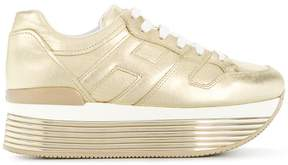 Hogan 'Maxi' lace up sneakers