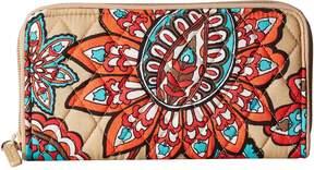 Vera Bradley RFID Georgia Wallet Wallet Handbags - DESERT FLORAL - STYLE