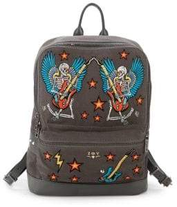 Zadig & Voltaire Arizona Embroidered Backpack