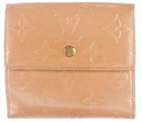 Louis Vuitton Vernis Elise Wallet - NEUTRALS - STYLE