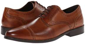 Nunn Bush Norcross Cap Toe Dress Casual Oxford Men's Lace Up Cap Toe Shoes