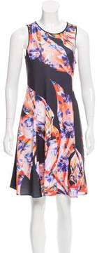 Clover Canyon Floral Printed Mini Dress