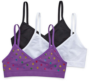 Maidenform 3-pc. Bralette-Big Kid Girls