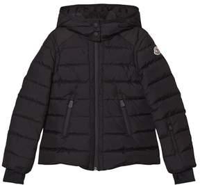 Moncler Black Emeraude Nylon Tech Jacket