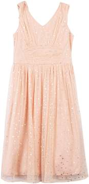 Speechless Girls 7-16 & Plus Size Foil Star Shirred Dress
