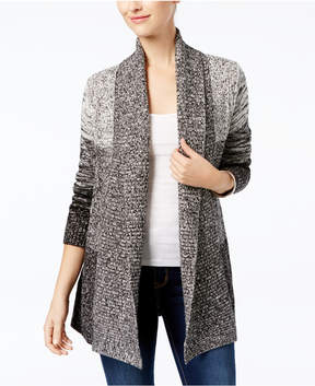 Charter Club Marled Open-Front Cardigan, Created for Macy's