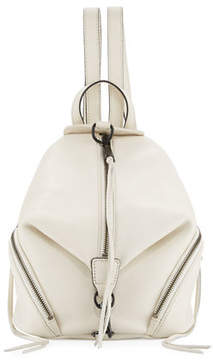 Rebecca Minkoff Julian Medium Leather Backpack - ANTIQUE WHITE - STYLE
