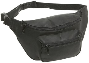 Le Donne Leather Classic Fanny Pack/Waist Bag