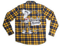 Disney Woody Flannel Shirt for Adults by Cakeworthy