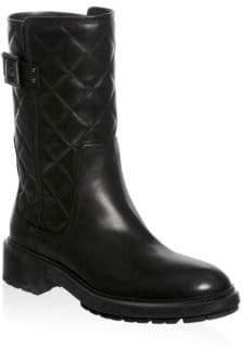 Aquatalia Layla Leather Booties