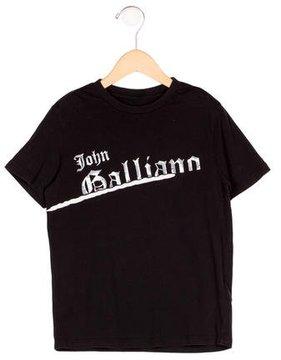 John Galliano Boys' Graphic Logo T-Shirt