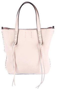 Rebecca Minkoff Pebbled Leather Bucket Bag - PINK - STYLE