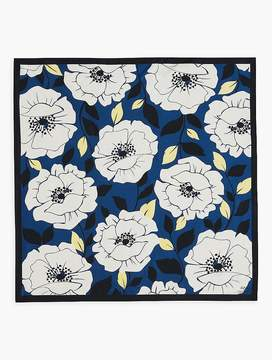 Talbots Happy Days Floral Square Scarf