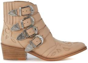 Toga Pulla Texan In Pale Pink Leather