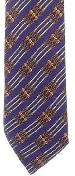 Hermes Equestrian Belt Silk Tie