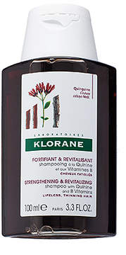Klorane Travel Shampoo with Quinine and B Vitamins.