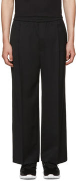 Public School Black Wide-Leg Hanzo Trousers