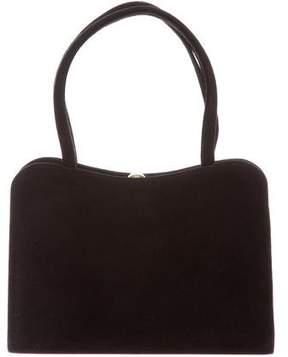Barneys New York Barney's New York Vintage Small Suede Handle Bag