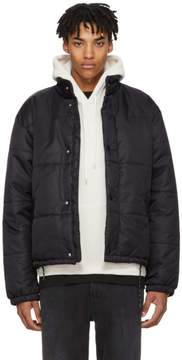 Our Legacy Black Nylon Bubble Jacket