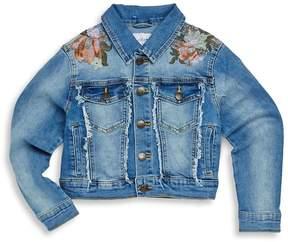 Joe's Jeans Girl's Oversized Denim Cropped Jacket