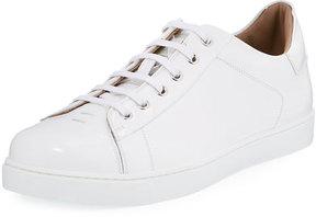 Gianvito Rossi Men's Leather Low-Top Sneaker
