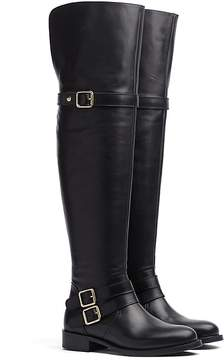 Tommy Hilfiger Over-The-Knee Leather Boot