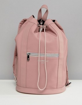 Fiorelli Sport Drawstring Duffle Backpack in Pink