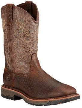 Ariat Men's Workhog Wide Square Toe Cowboy Boot