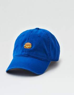 American Eagle Outfitters AE Embroidered Burger Dad Hat