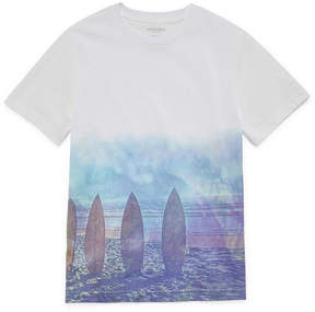 Arizona Short Sleeve Crew Neck T-Shirt-Boys 4-20