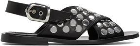 McQ Black Studded Sundance Sandals