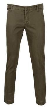 Entre Amis Men's Green Cotton Jeans.