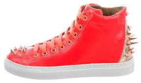 Ruthie Davis Jay High-Top Sneakers w/ Tags