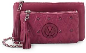 Mario Valentino Valentino by Women's Studded Leather Crossbody Bag
