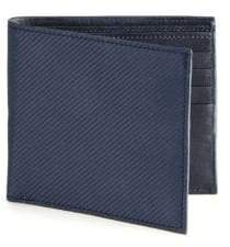Saks Fifth Avenue COLLECTION Carbon Fiber Bifold Wallet