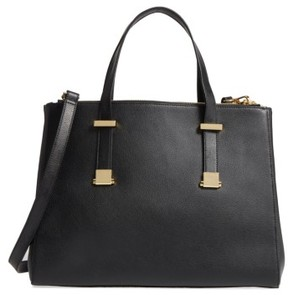 Ted Baker Large Alunaa Convertible Leather Tote - Black