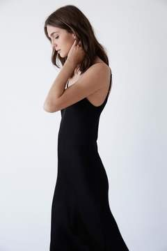 Velvet by Graham & Spencer BRIENNE SATIN VISCOSE SLIP DRESS